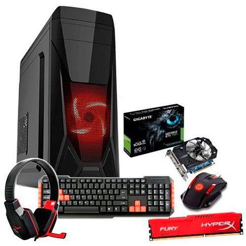 Cpu Pc Gamer Core I3 6100 3.7ghz + 8gb Mem Ddr4 + Gtx750 Ti
