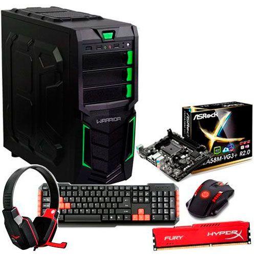 Cpu Gamer AMD A4 7300 Dual Core, 3.8GHz  8GB Ati Radeon 8470