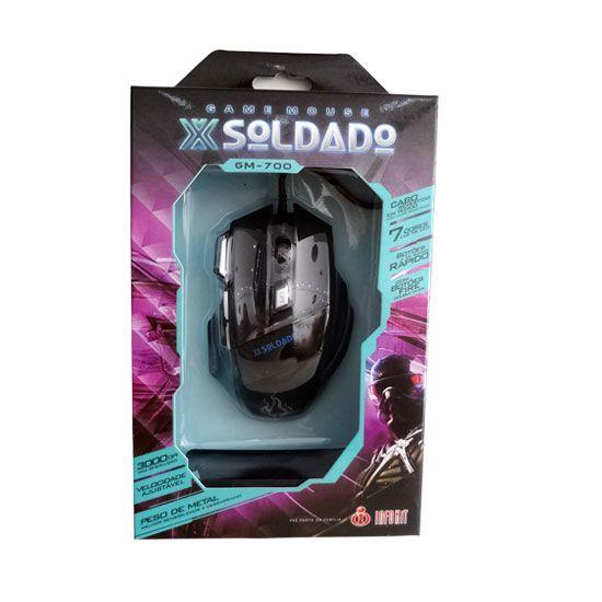 Game mouse x soldado GM 700