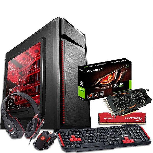 Computador Cpu Pc para jogos A8 7650k 8GB + GTX 1050 DDR5 2GB