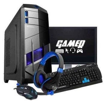 Computador Cpu Pc Gamer Completo  Fx 8320 Octacore  Gtx 1050 2 Gb Roda Tudo