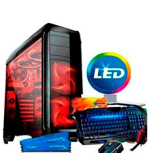 Pc Gamer Intel G4560 8gb Gtx 1050ti 4gb Desktop