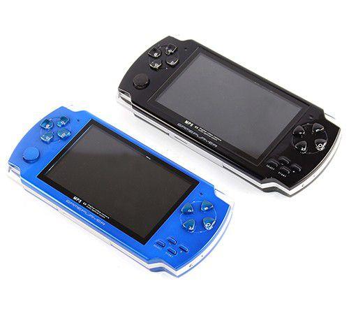 Video Game Portátil GBA-GBC Game Player 3D - Preto ou Azul 10000 Mil jogos
