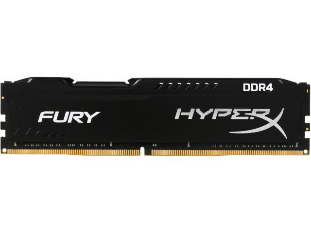 Memória Kingston HyperX FURY 4GB 2400Mhz DDR4 CL15 Black