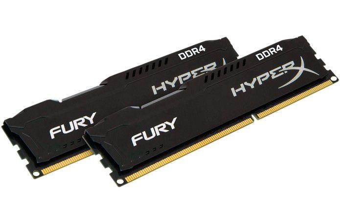 Memória Kingston HyperX FURY 8GB 2400Mhz DDR4 CL15 Black