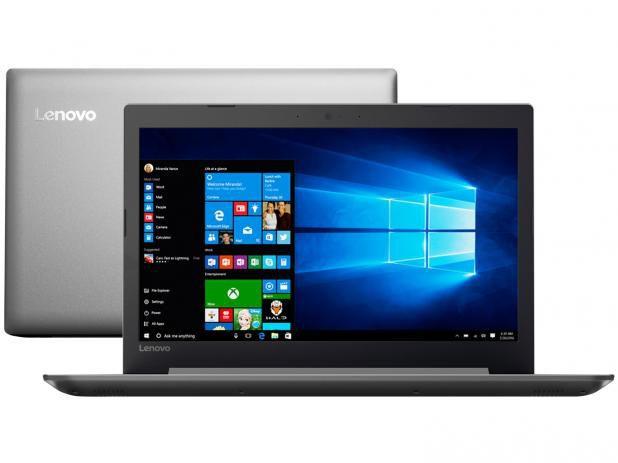 Notebook Lenovo Ideapad 320-14IKB Intel Core i5-7200U 4GB 500GB Windows 10 14´´ 80YF0007BR