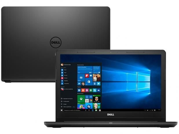"Notebook Dell Inspiron i15-3567-A10 Intel Core i3 - 4GB 1TB LED 15,6"" Windows 10 + BRINDE"