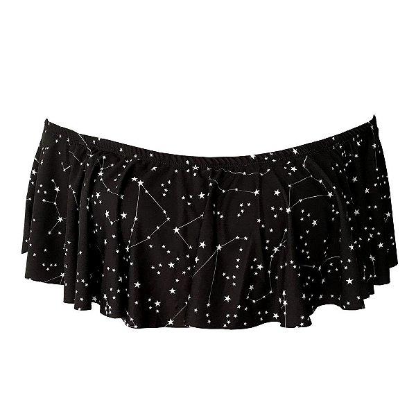 Ciganinha de Biquíni Constelação Estrelas Preto