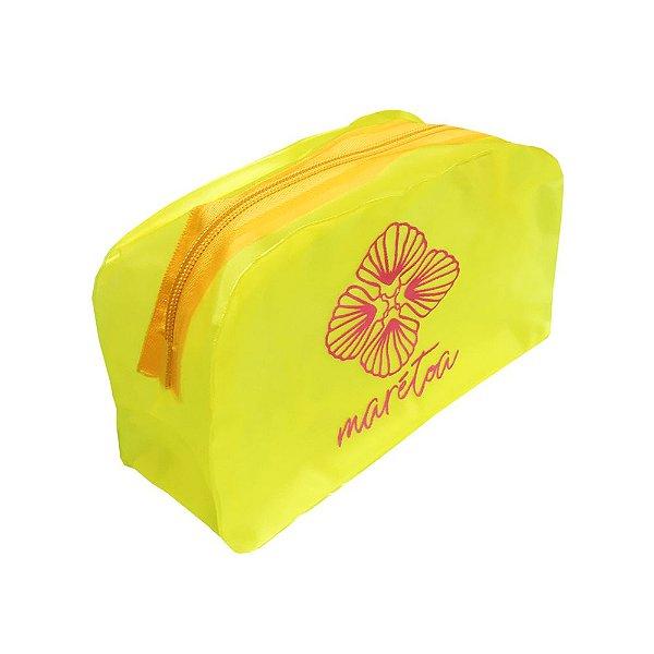 Necessaire Marétoa Amarelo Neon