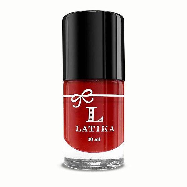 Esmalte Latika Vermelho Scarlet