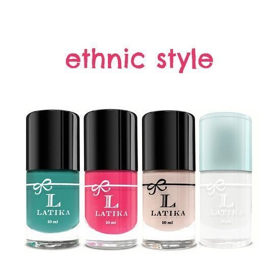 Kit Esmalte Latika Unha Decorada Ethnic Style
