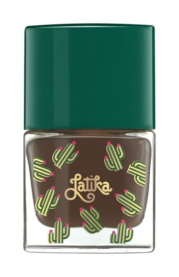 Latika Nail Marrom Cactus Argile