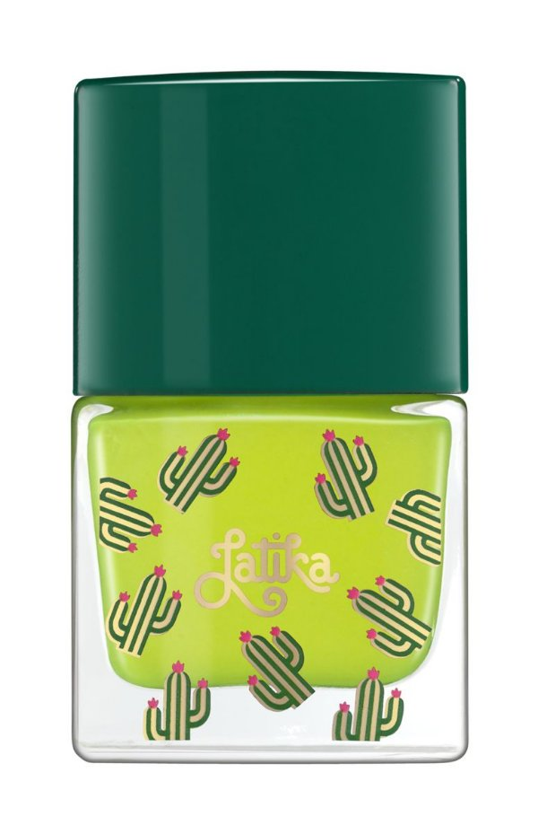 Latika Nail Amarelo Cactus Polen Fluor