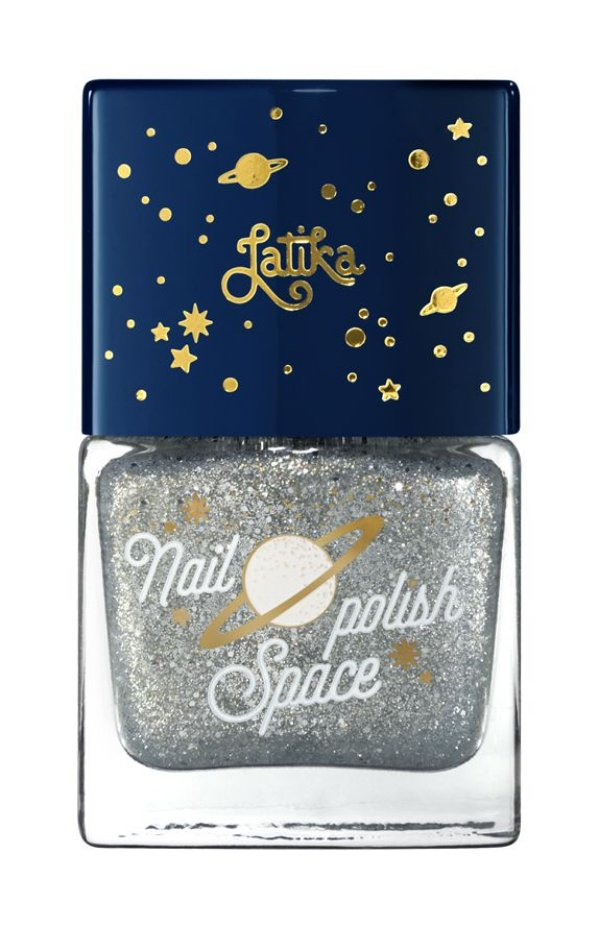 Latika Nail Space Cinza Silver Star