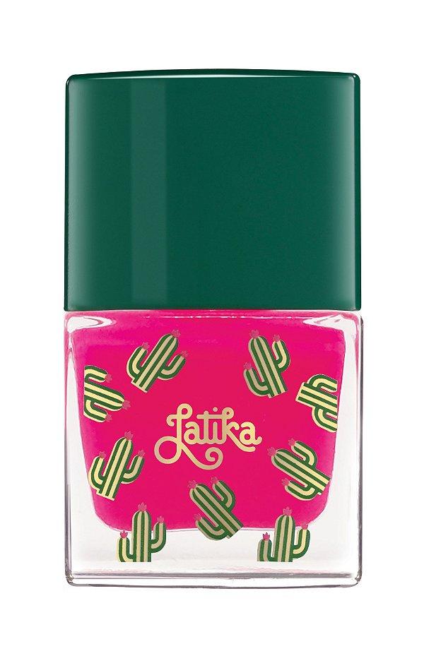Latika Nail Cactus Rosa Lily
