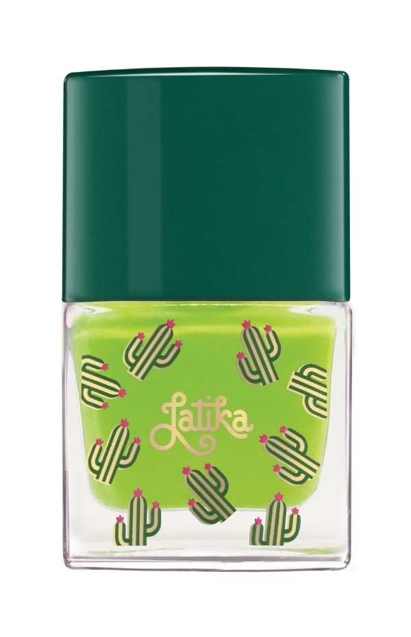 Latika Nail Cactus Verde Green Apple