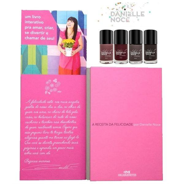 Danielle Noce Kit A Receita da Felicidade Esmaltes Latika