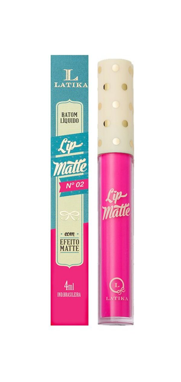 Lip Matte Latika Batom Líquido Rosa nº2