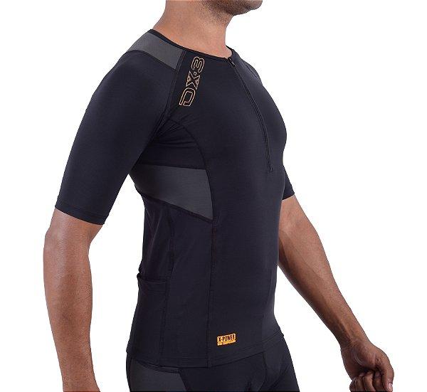 Camisa DX-3 Masculina de Ciclismo - Alta Compressão