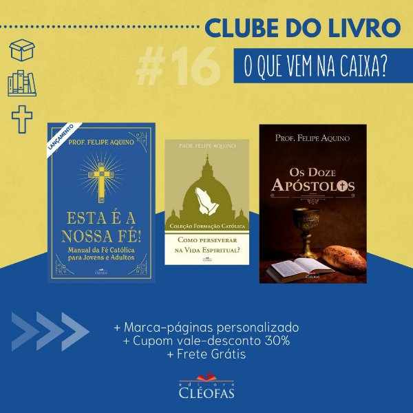 Clube do Livro - BOX 16