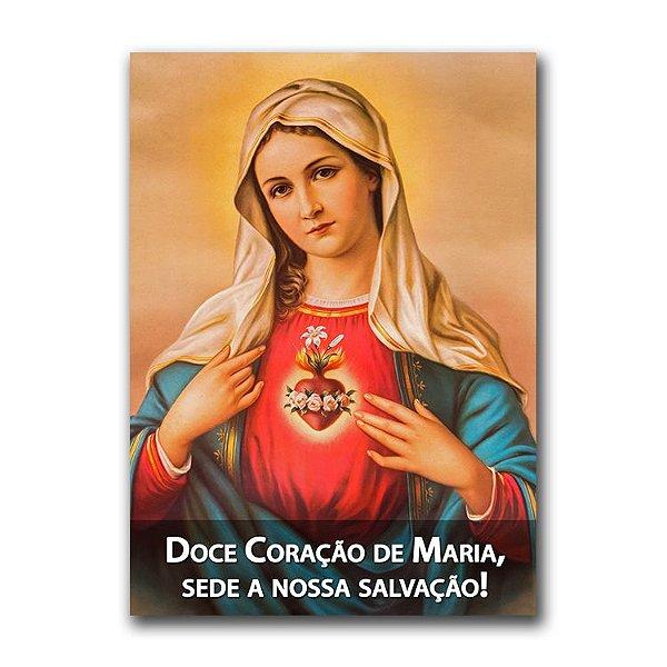 Adesivo - Doce Coração de Maria