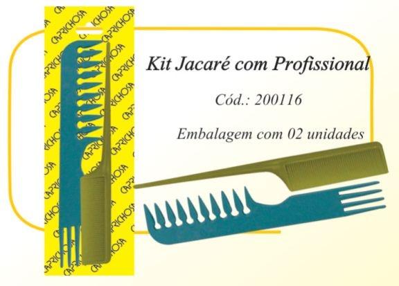 Kit jacaré/profissional
