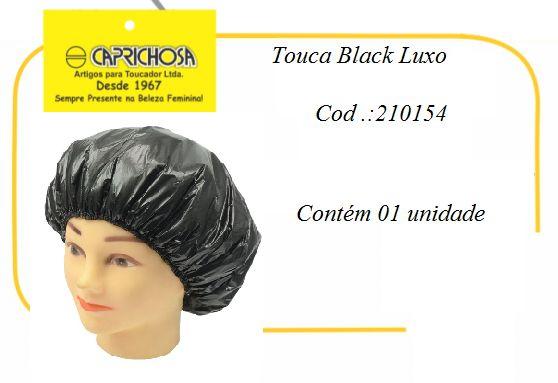Touca Black Luxo