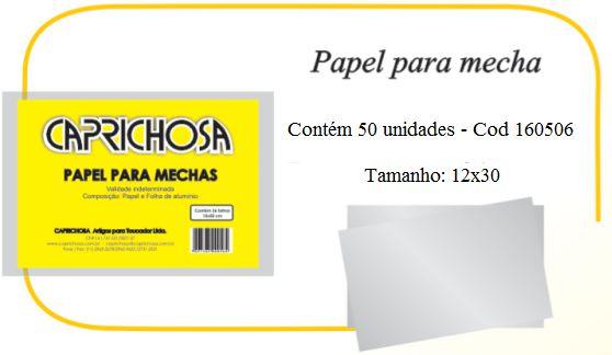 Papel para Mechas - 12 x 30 cm
