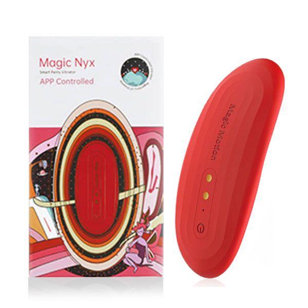 MAGIC MOTION NYX - VIBRADOR DE CALCINHA COM RELÓGIO INTELIGENTE CONTROLE PELA INTERNET VIA APP NO CELULAR SMARTPHONE