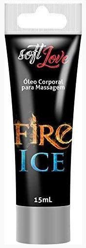 SOFT LOVE FIRE & ICE - GEL EXCITANTE COM FUNÇÃO ESQUENTA E ESFRIA - 15ML