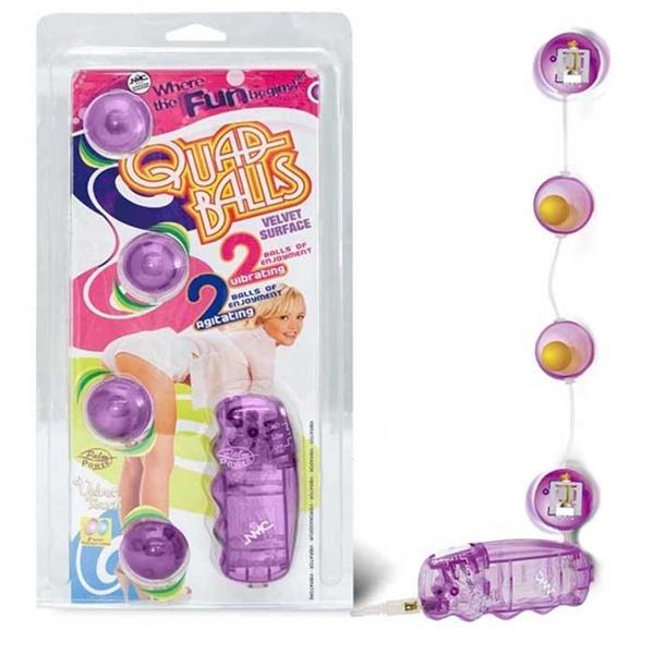 Bolinhas para pompoarismo com vibração - quad balls