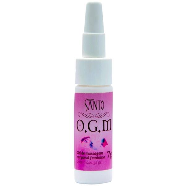 SANTO COSMÉTICOS VEGANO Ogm orgasm - GEL estimulador do Ponto G com aplicador - 7gr