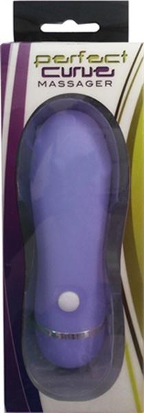 Vibrador feminino - perfect curve purple 11.5x3.5cm