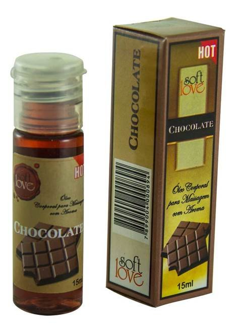 Gel comestível Hot 15ml - Chocolate