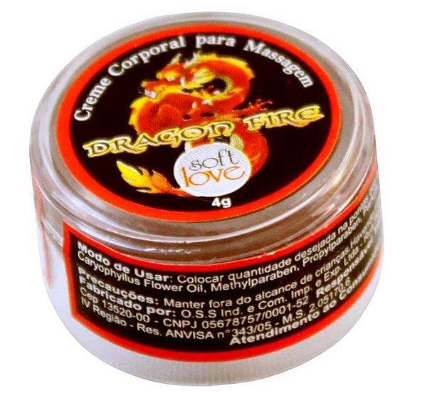 Dragon Fire aquecimento - pomada  4gr