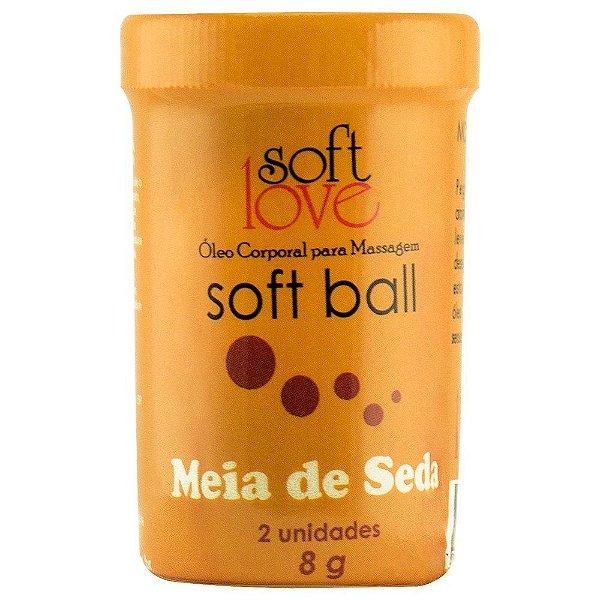 Bolinha do sexo - comestível Meia de Seda Hot (função aquecimento)