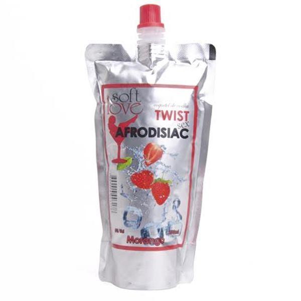 Twist sex morango; coquetel alcoólico afrodisíaco 200ml