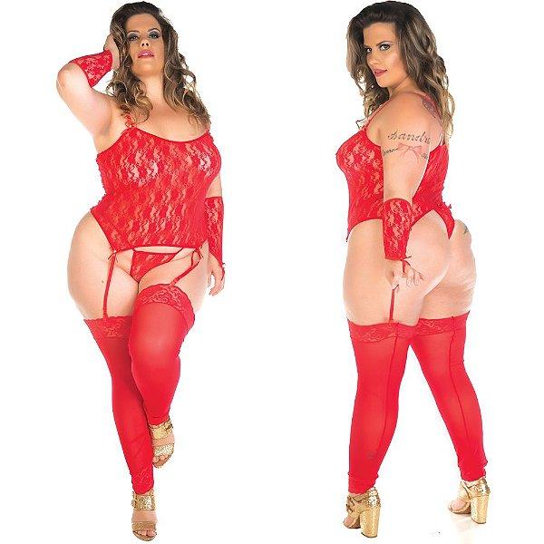 Camisete liga plus - cor vermelha