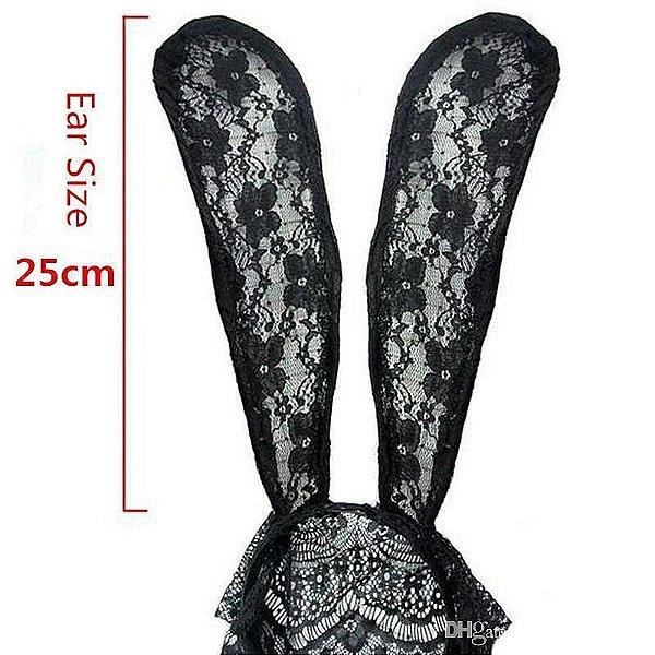 Bunny Sexy: Máscara de coelha em renda