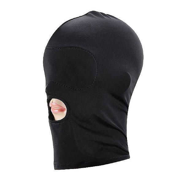 Capuz máscara lycra com boca livre