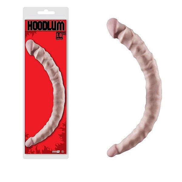 Penis Ponta Dupla - Dong Hoodlum Flesh - Prótese dupla penetração com veias realísticas