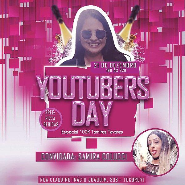 INGRESSO YOUTUBERS DAY DIA 21/12/2019