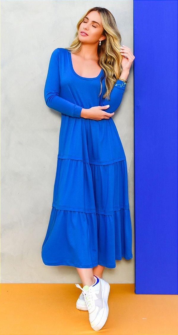 Vestido Malha C/ Pregas Decote U Jeri| NEXT STOP BLESSED