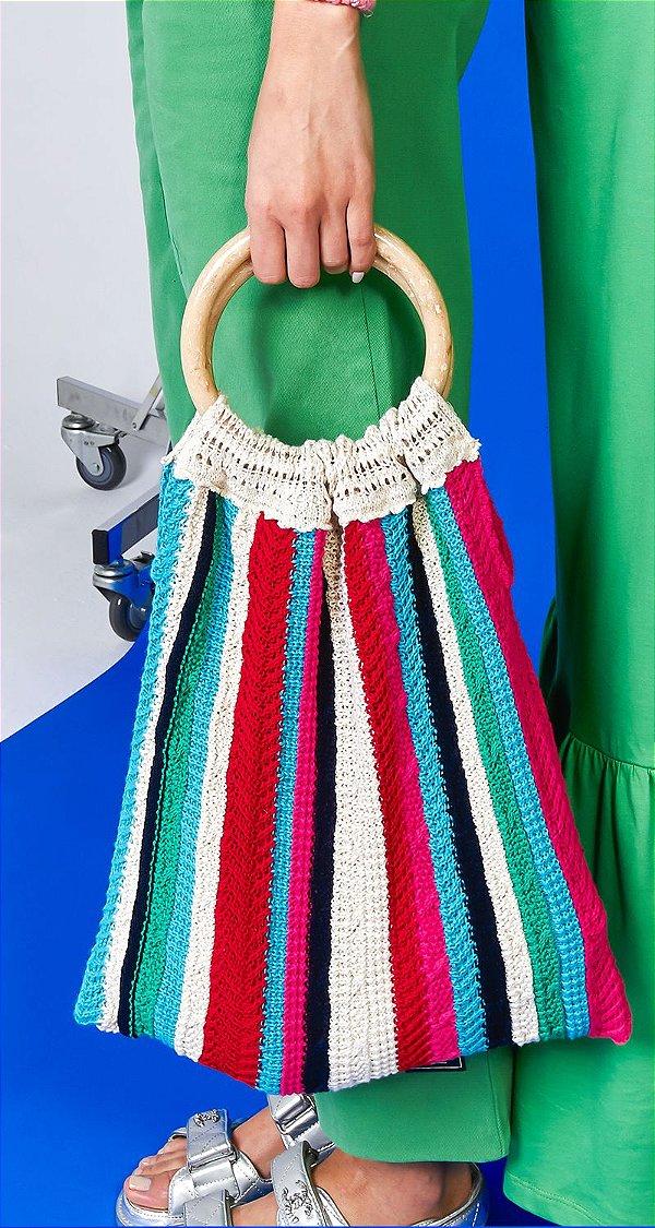 Bolsa Tricot Colors Stripes | NEXT STOP BLESSED
