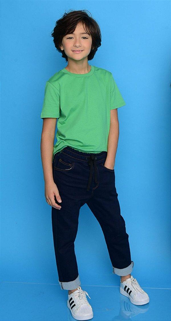 Calça Jeans c/ Elástico Blessinho Malibu   NEXT STOP BLESSED