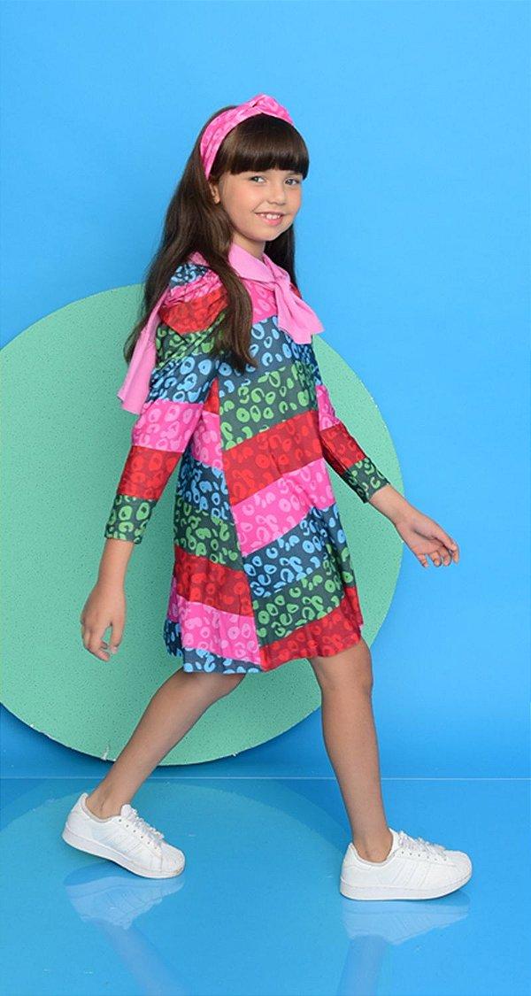Vestido Blessinha Onça Colors Miami | NEXT STOP BLESSED