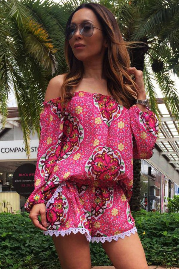 OUTLET | Conjunto Cigana Arabesco Rosa