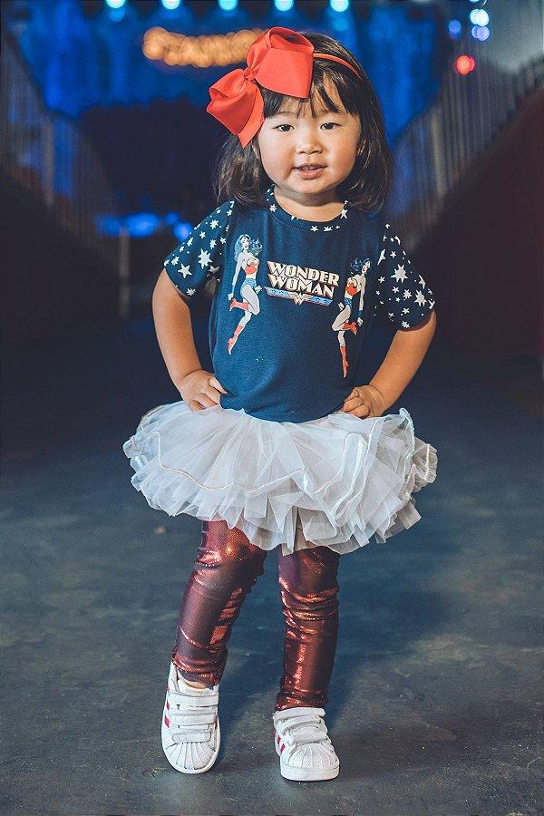 Blusa Blessinha Wonder Woman Star