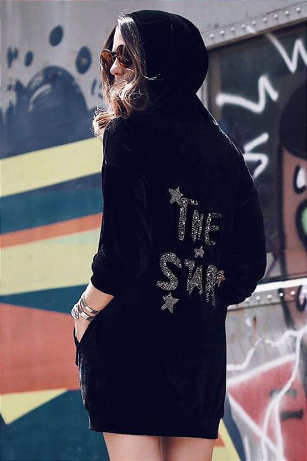 SALE   Vestido Veludo The Star