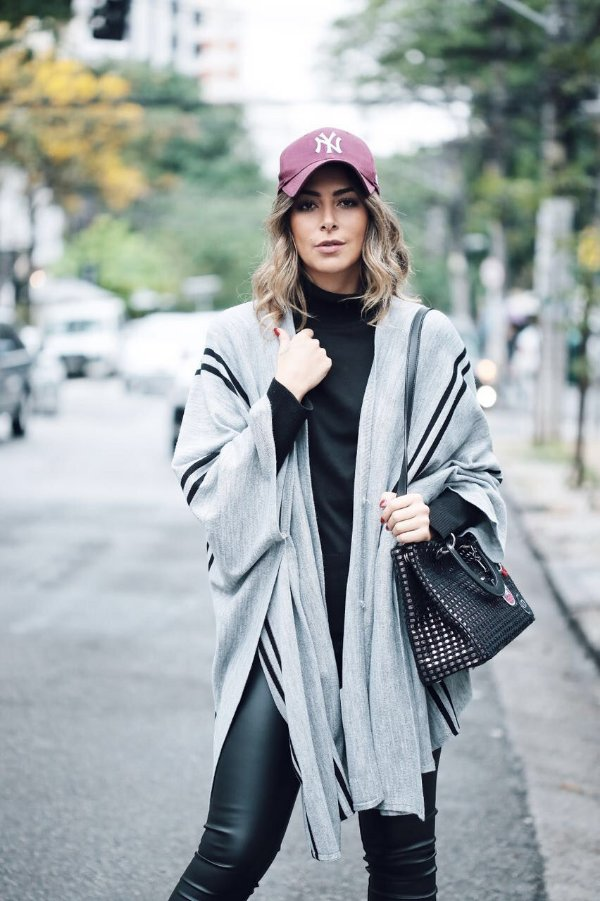 OUTLET | Poncho Listras